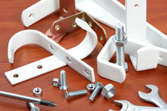 Hooks, Arms And Fixture Royalty Free Stock Photos