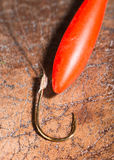 Hooks for fishing Royalty Free Stock Image