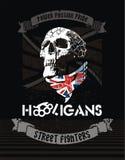 hooligans royalty-vrije illustratie