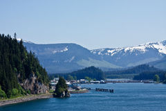 Hoonah, Alaska Royalty Free Stock Photography