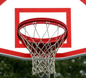 Hoop and Backboard Royalty Free Stock Photo