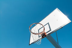 Hoop and blue sky Royalty Free Stock Photo
