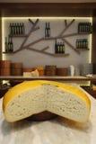 Hoop cheese Stock Image
