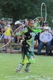 Hoop Dance - Powwow 2013 Royalty Free Stock Image