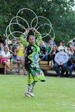 Hoop Dance - Powwow 2013 Stock Images