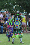 Hoop Dance - Powwow 2013 Royalty Free Stock Images