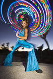 Hoop Dancer  Royalty Free Stock Photo
