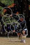Hoop Dancer Champion Royalty Free Stock Photography