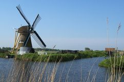 Hoop Doet Leven windmill, Voorhout, the Netherland Royalty Free Stock Photography