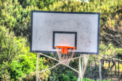 Hoop in hdr Royalty Free Stock Images