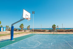 Hoop by the sea Royalty Free Stock Images