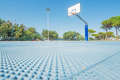 Hoop seen from the floor Stock Photography