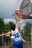 Hoop shot Stock Photography