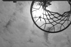 Hoop and Sun Royalty Free Stock Photography