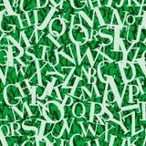 Hoop van brieven (naadloze vect Royalty-vrije Stock Afbeeldingen