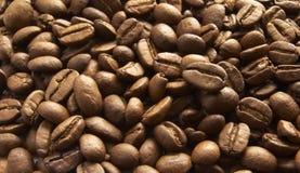 Hoop van bruin koffiezaad Royalty-vrije Stock Foto