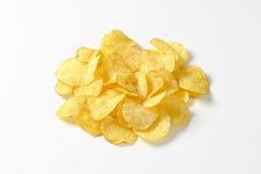 Hoop van chips royalty-vrije stock fotografie