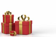 Hoop van de Dozen van de Gift Stock Fotografie
