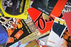 Hoop van de vinylverslagen Royalty-vrije Stock Foto's