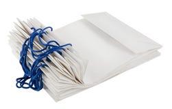 Hoop van document zakken voor het winkelen Stock Afbeeldingen