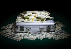 Hoop van dollars Royalty-vrije Stock Foto's