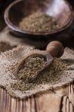 Hoop van droge Anise Seeds stock fotografie
