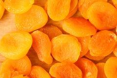 Hoop van droge het voedselachtergrond van het abrikozenclose-up Stock Foto's