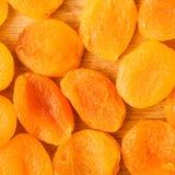 Hoop van droge het voedselachtergrond van het abrikozenclose-up Royalty-vrije Stock Foto's