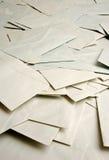Hoop van enveloppen Stock Foto