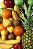 Hoop van heerlijk fruit Stock Afbeeldingen