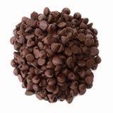 Hoop van Heerlijke Chocoladeschilfers Stock Fotografie