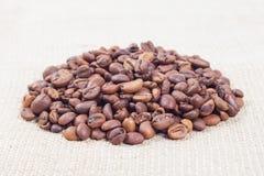 Hoop van koffiebonen royalty-vrije stock foto's