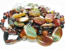 Hoop van multicolored parels Royalty-vrije Stock Afbeelding