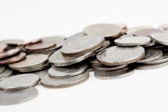 Hoop van muntstukken royalty-vrije stock afbeelding