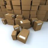 Hoop van pakketten Royalty-vrije Stock Foto's