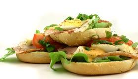 Hoop van sandwiches Royalty-vrije Stock Fotografie