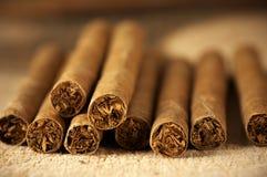 Hoop van sigaren Royalty-vrije Stock Fotografie