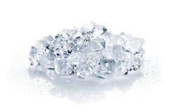 Hoop van verpletterd ijs royalty-vrije stock afbeelding