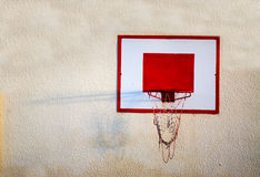 Hoop on the wall Royalty Free Stock Images
