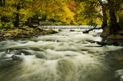 Hoopes Falls in the Autumn Stock Photo