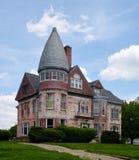 Hoopeston- Cunningham Mansion Fotografering för Bildbyråer