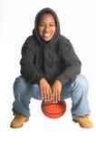 Hoops Girl Royalty Free Stock Photo