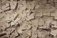 hoopvolle het schrijven posten voor herinneringen van life& x27; s doel stock afbeeldingen