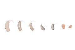 Hoorapparaten, verschillende soort Royalty-vrije Stock Afbeelding