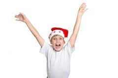 Hooray ist es Weihnachten stockbilder