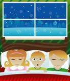 Hoorde ik Kerstman? Stock Fotografie