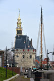 Hoorn Hoofdtoren Royalty Free Stock Images