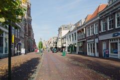 Hoorn. THE NETHERLANDS - OCTOBER 22: Typical Dutch architecture on October 22, 2013 in , The Netherlands Stock Photo
