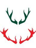 Hoornen van deers Royalty-vrije Stock Foto