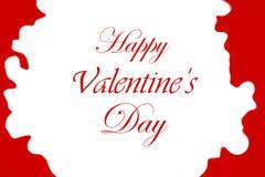 Hoort de van letters voorziende achtergrond van de valentijnskaartendag met Abstract Bokeh-Rood Royalty-vrije Stock Foto's